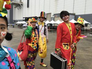 氣球小丑表演,生日派對小丑表演,人入氣球